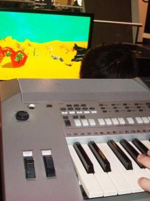 Keyboard mandala