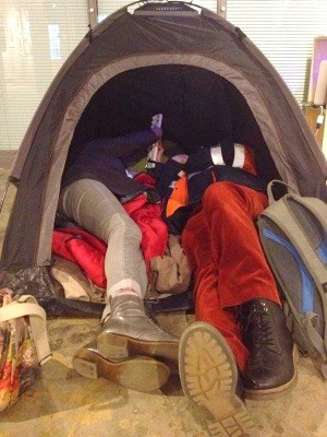 Tent in dublin